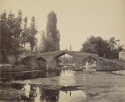 Bridge near Srinagar, built by Akbar